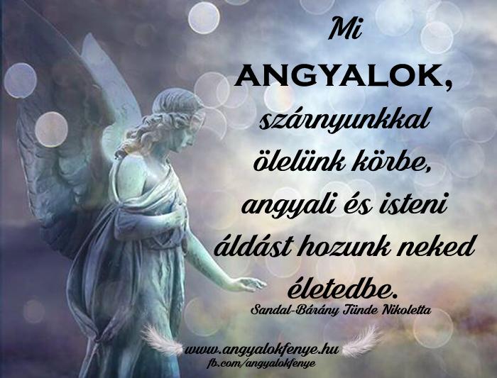 Angyali üzenet-Angyali és isteni áldás hozunk