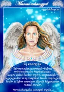 Marcus arkangyal kártya