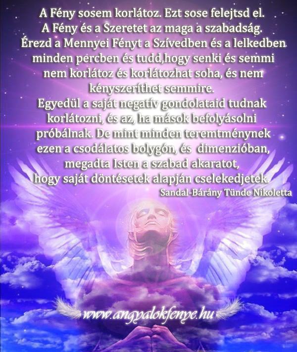 Angyali üzenet-A Fény sosem korlátoz