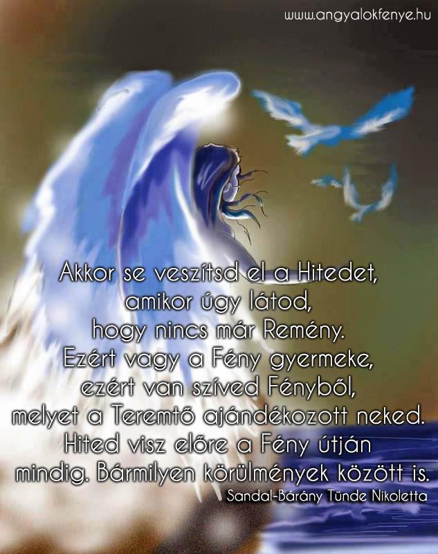 Photo of Angyali üzenet: Hited visz előre a Fény útján