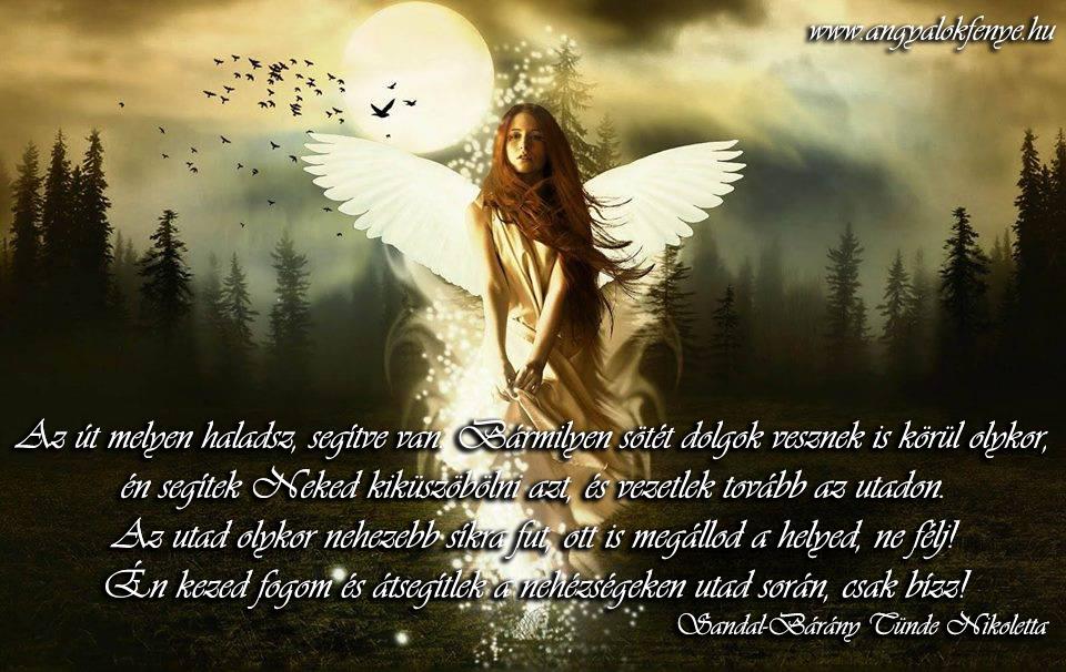 Angyali üzenet-Az út segítve van