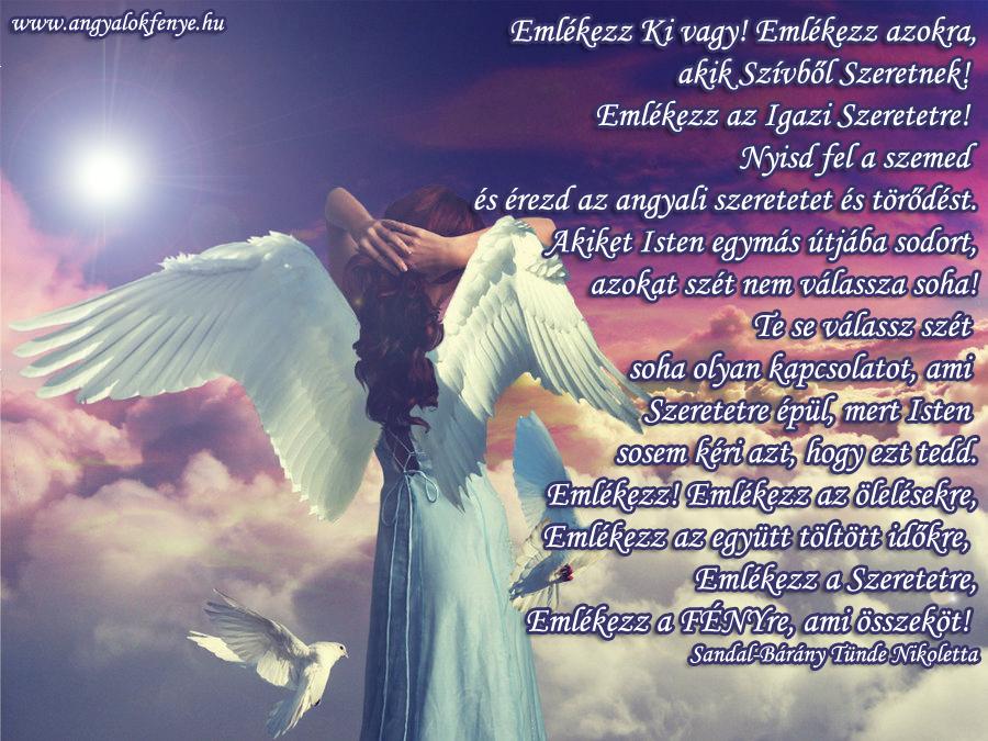 Photo of Angyali üzenet: Emlékezz a szeretetre