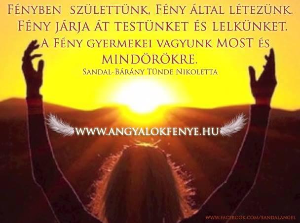 Photo of Angyali üzenet: Fényben születtünk, Fény által létezünk