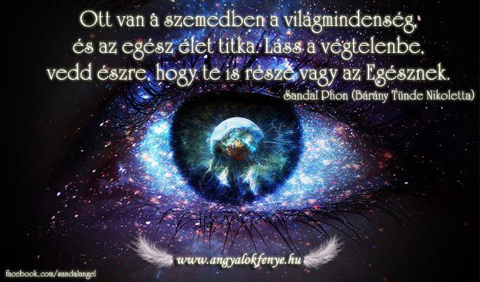 Photo of Angyali üzenet: Szemedben a világmindenség