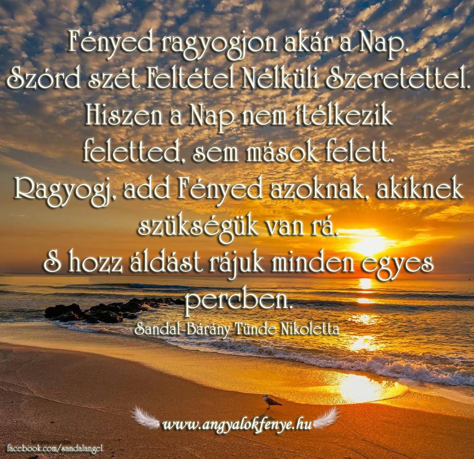 Photo of Angyali üzenet: Fényed ragyogjon akár a Nap