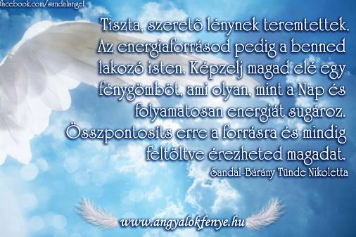 Photo of Angyali üzenet: Energiaforrásod a benned lakozó isten