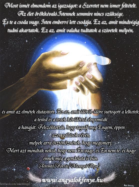 Photo of Isten üzenete: A Szeretet nem ismer feltételt