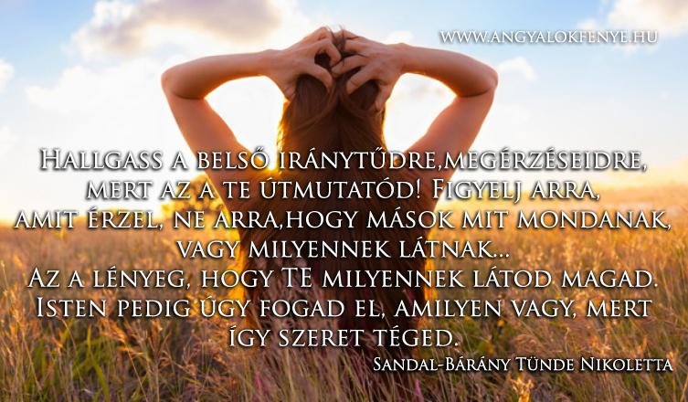 Photo of Angyali üzenet: Hallgass a belső iránytűdre