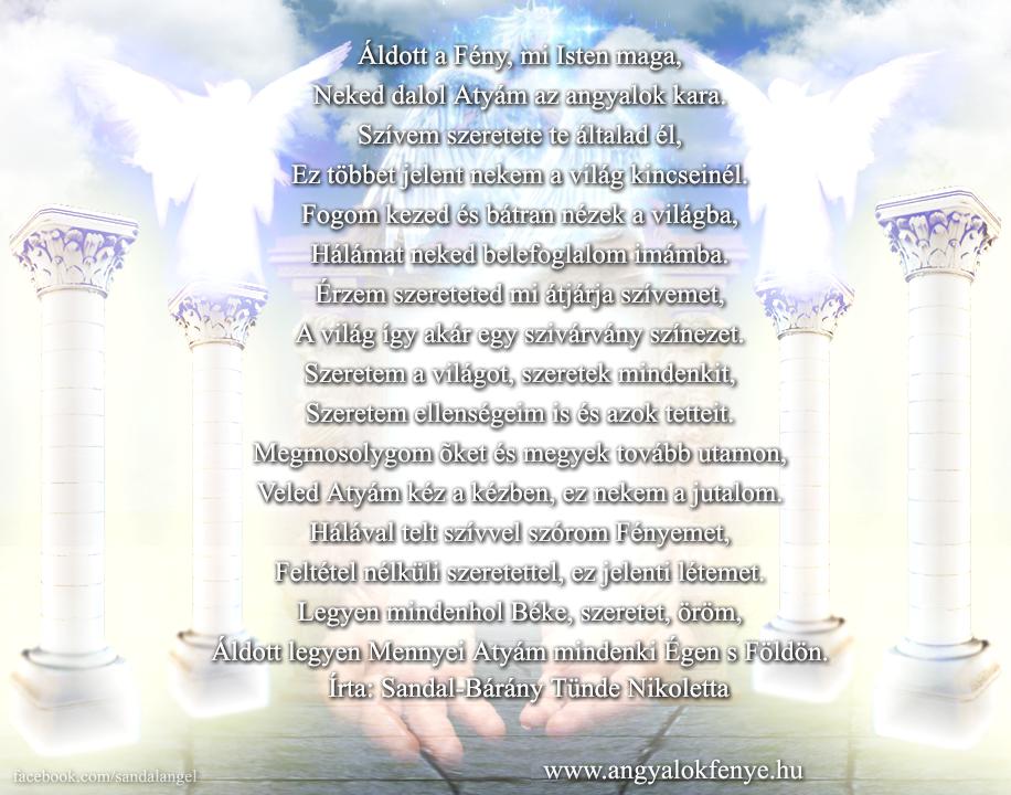 Photo of Angyali vers-üzenet: Áldott a Fény