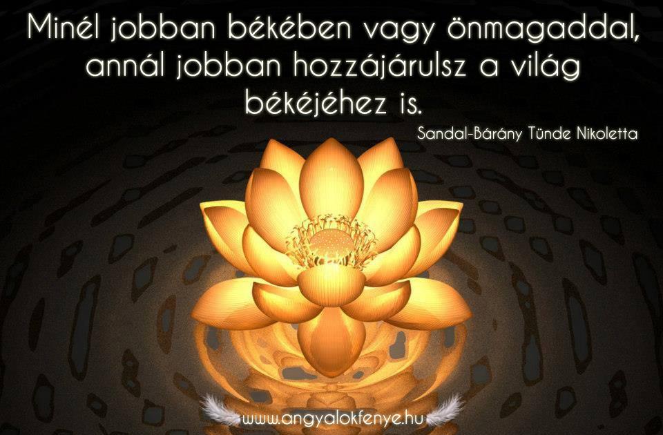Photo of Angyali üzenet: Legyél békében önmagaddal