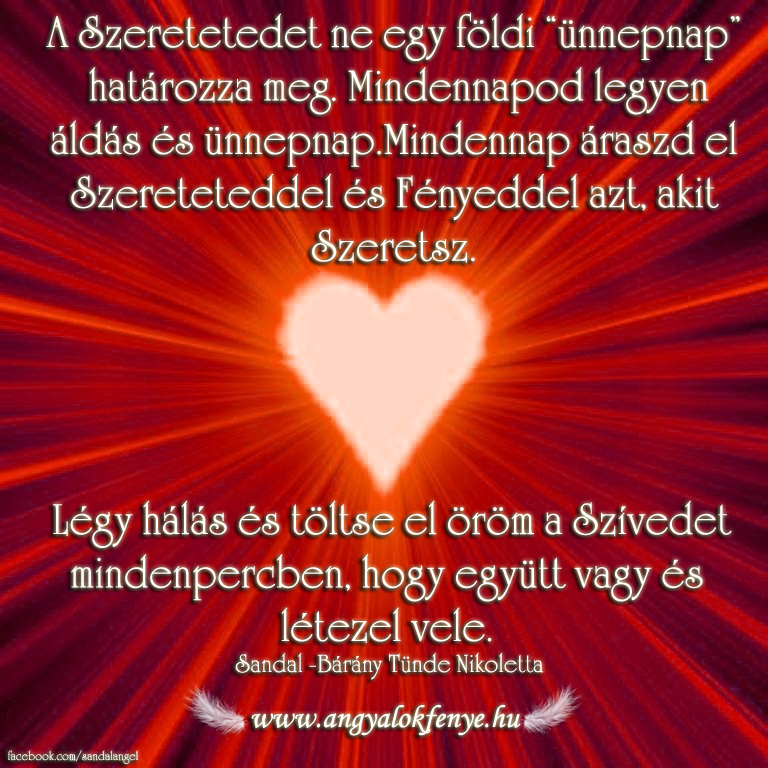 Photo of Angyali üzenet: Szeress minden percben