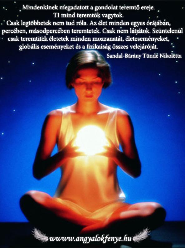 Photo of Angyali üzenet: Mind teremtők vagytok