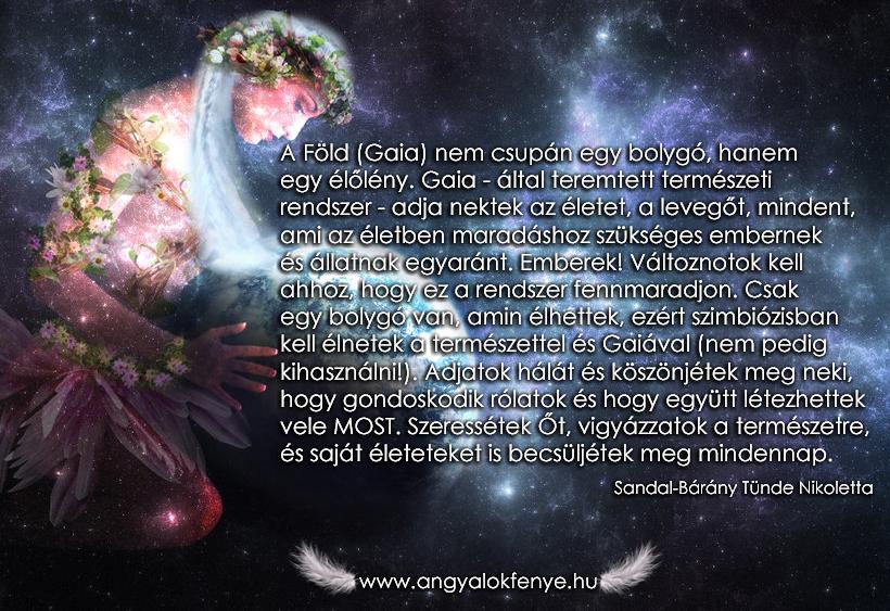 Angyali üzenet: Szimbiózisban Gaiával