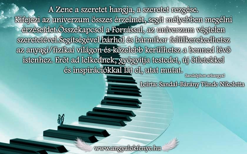 Photo of Sandalphon arkangyal üzenete: A Zene a szeretet hangja