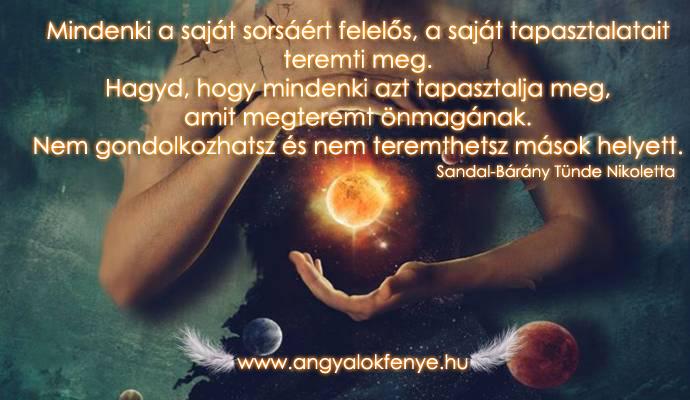 Photo of Angyali üzenet: Mindenki a saját tapasztalatait teremti