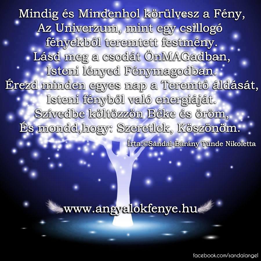 Photo of Angyali vers-üzenet: Mindig és Mindenhol körülvesz a Fény
