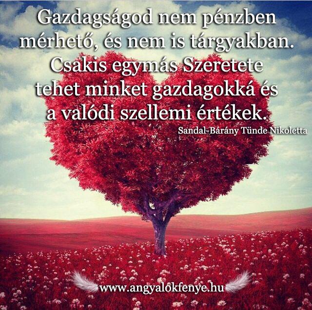 Angyali üzenet-Gazdagságod a Szeretet!