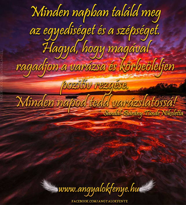 Photo of Angyali üzenet: Találd meg minden napban az egyediséget!