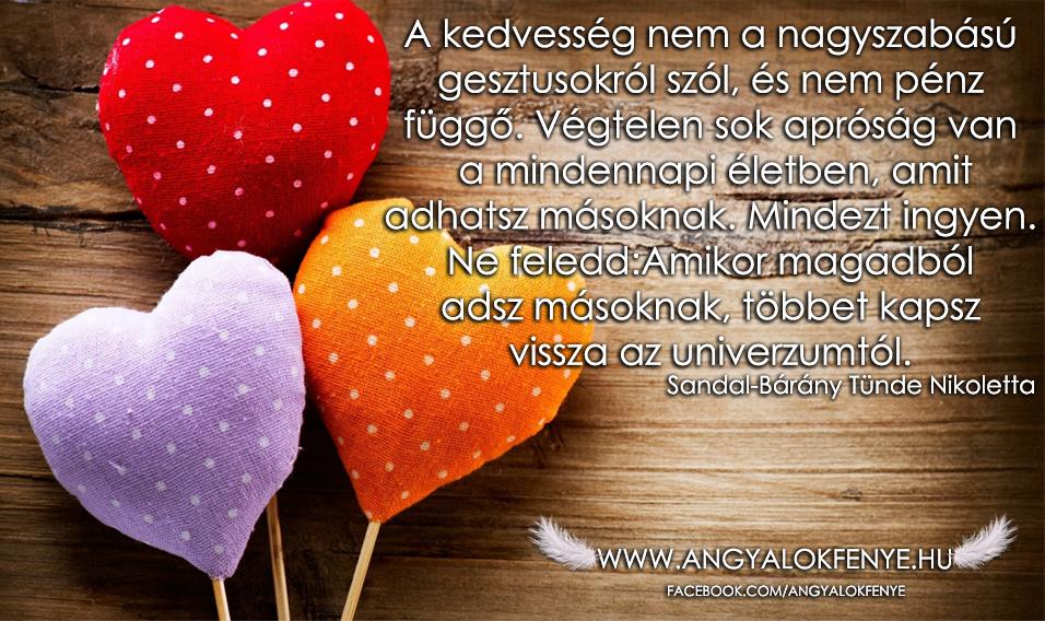 Photo of Angyali üzenet: A kedvesség nem nagyszabású gesztus