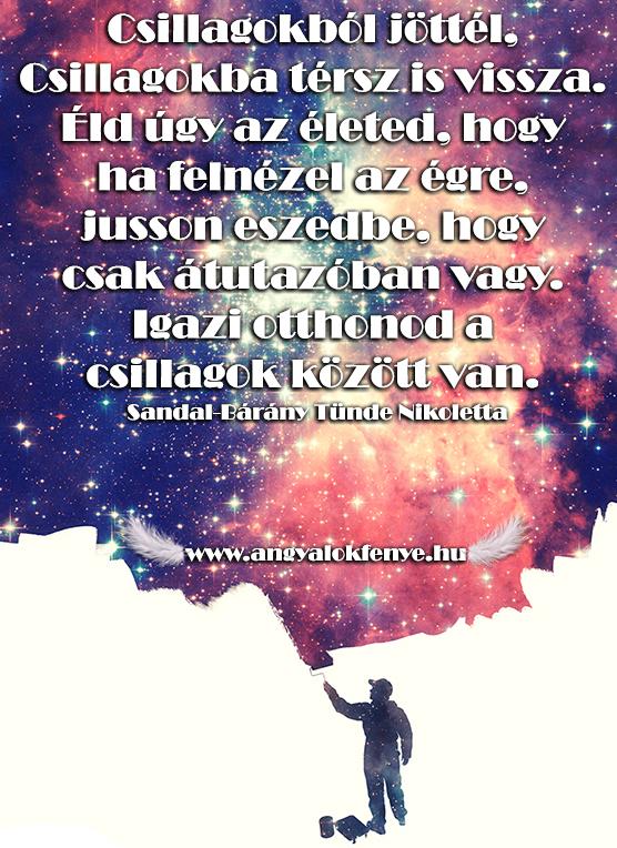 Photo of Angyali üzenet: Csillagokból jöttél