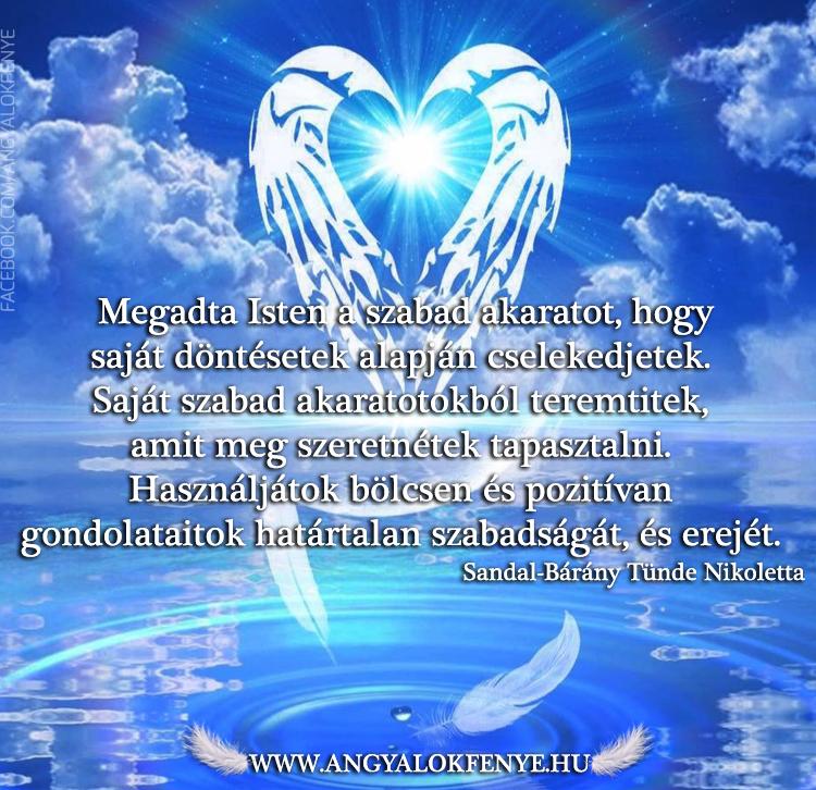 Photo of Angyali üzenet: Megadta Isten a szabad akaratot