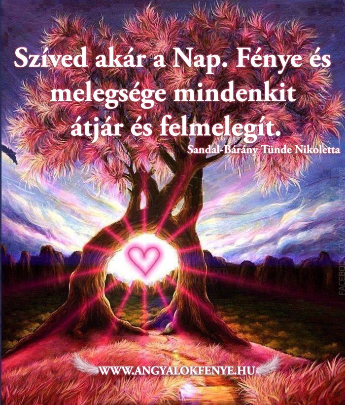 Photo of Angyali üzenet: Szíved akár a Nap