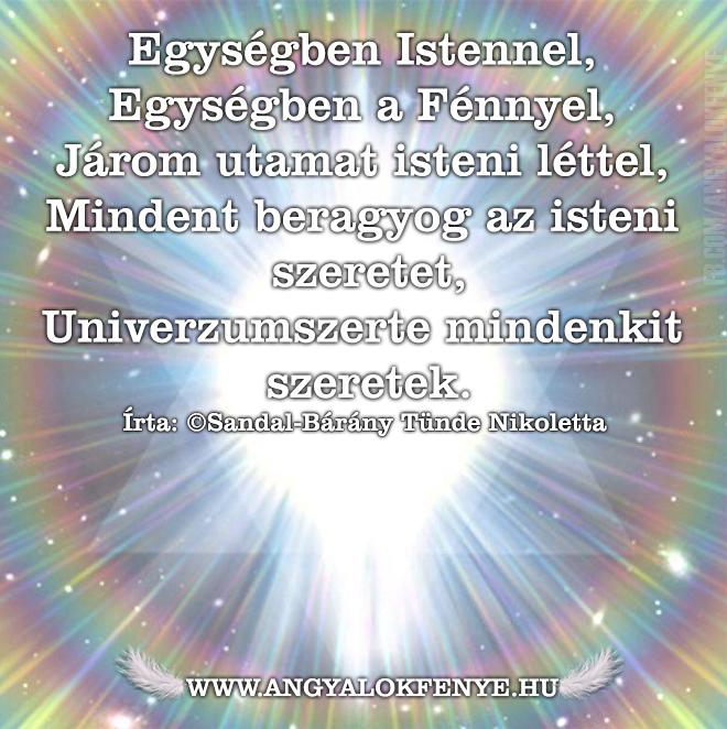 Photo of Angyali vers-üzenet: Egységben Istennel