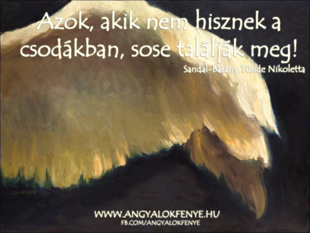 Photo of Angyali üzenet: Azok, akik nem hisznek a csodákban…
