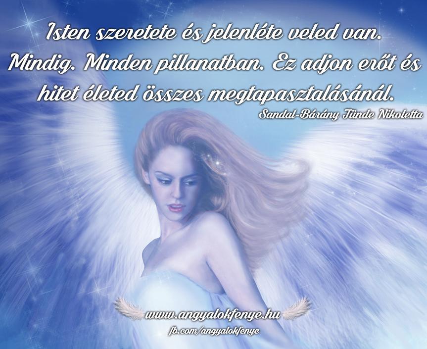 Angyali üzenet-Isten szeretet veled van