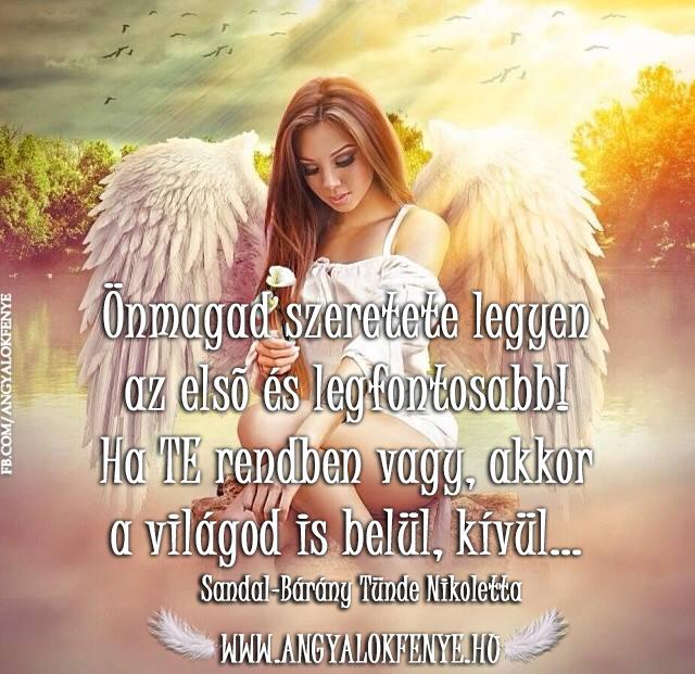 Photo of Angyali üzenet: Önmagad szeretete