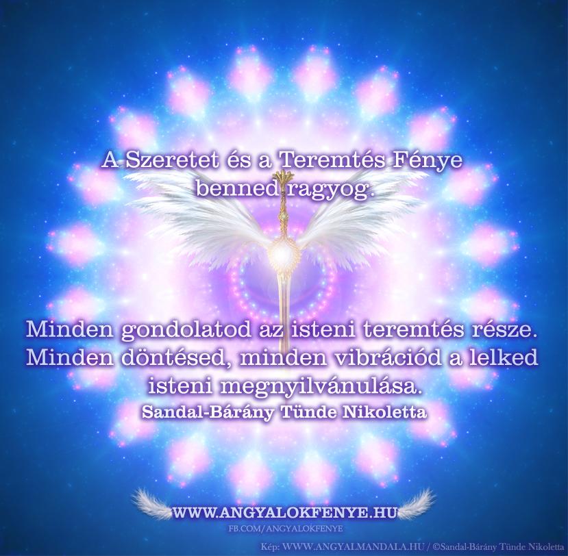 Photo of Angyali üzenet: A Szeretet és a Teremtés Fénye benned ragyog