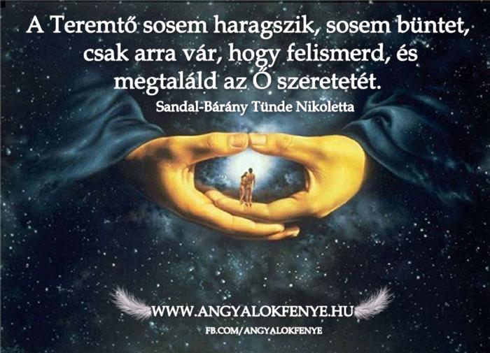 Photo of Angyali üzenet: A Teremtő sosem haragszik