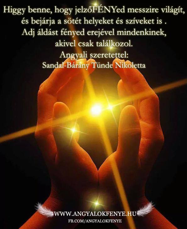 Photo of Angyali üzenet: Jelzőfényed messzire világít
