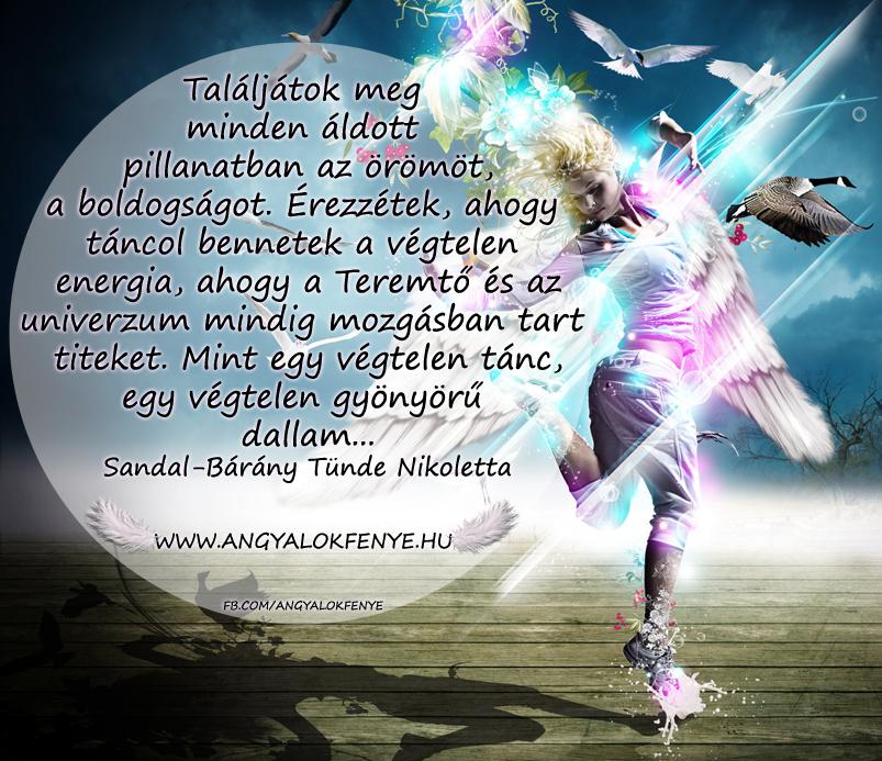 Photo of Angyali üzenet: Táncol bennetek a végtelen energia
