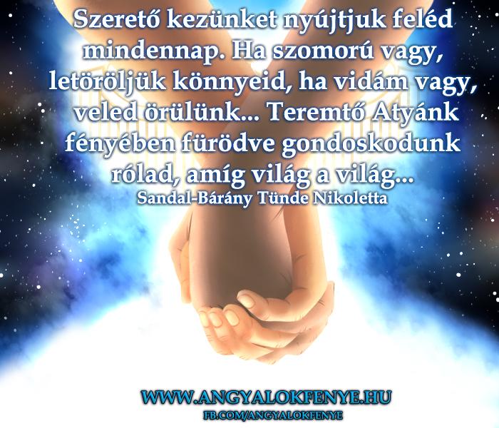 Photo of Angyali üzenet: Szerető kezünket nyújtjuk