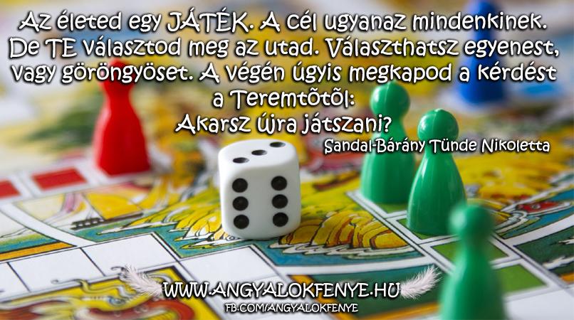 Photo of Angyali üzenet: Életed egy játék