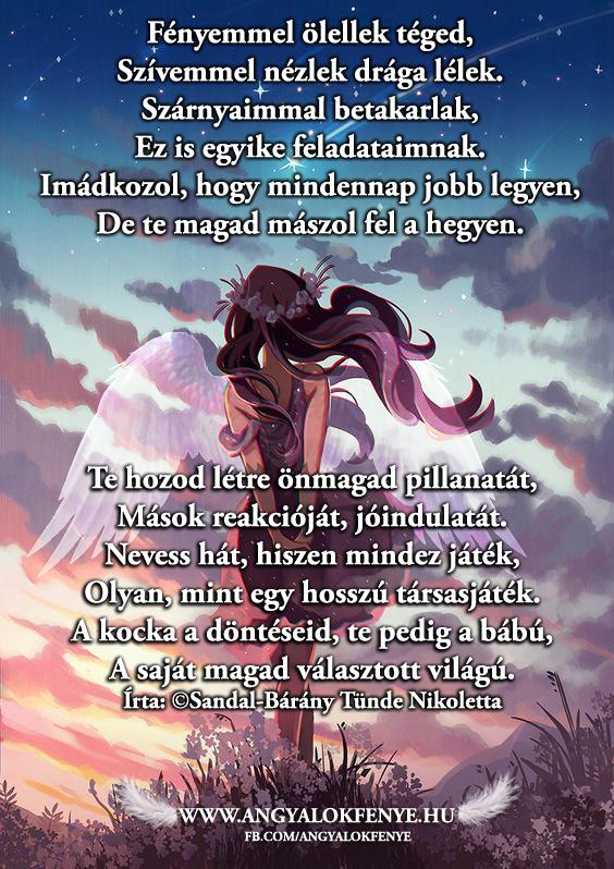 Angyali vers-üzenet: Te hozod létre