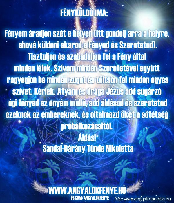 Photo of Angyali üzenet: Fényküldő ima (minden napra)