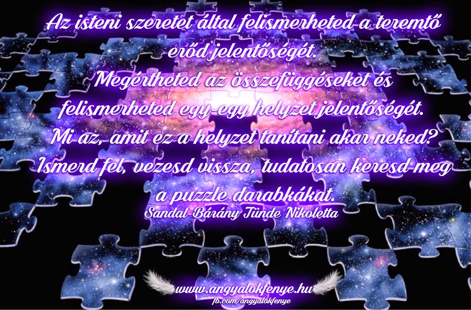 Photo of Angyali üzenet: Ismerd fel és keresd a puzzle darabkákat