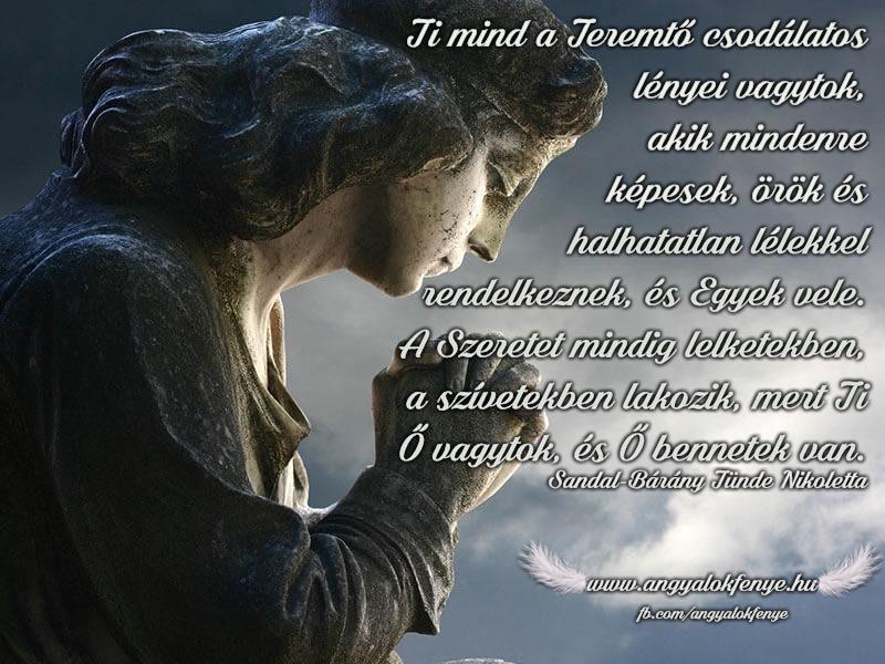 Photo of Angyali üzenet: Mind a Teremtő csodálatos lényei vagytok