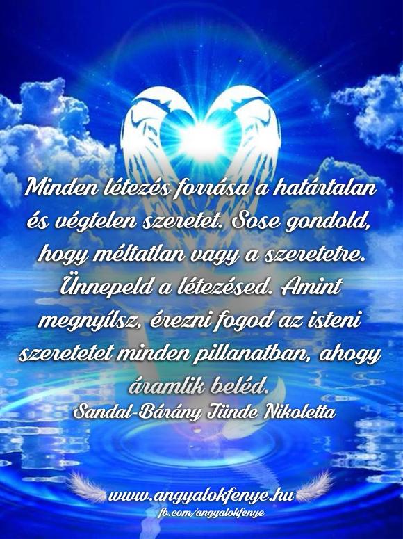 Photo of Angyali üzenet: Minden létezés forrása a határtalan és végtelen szeretet