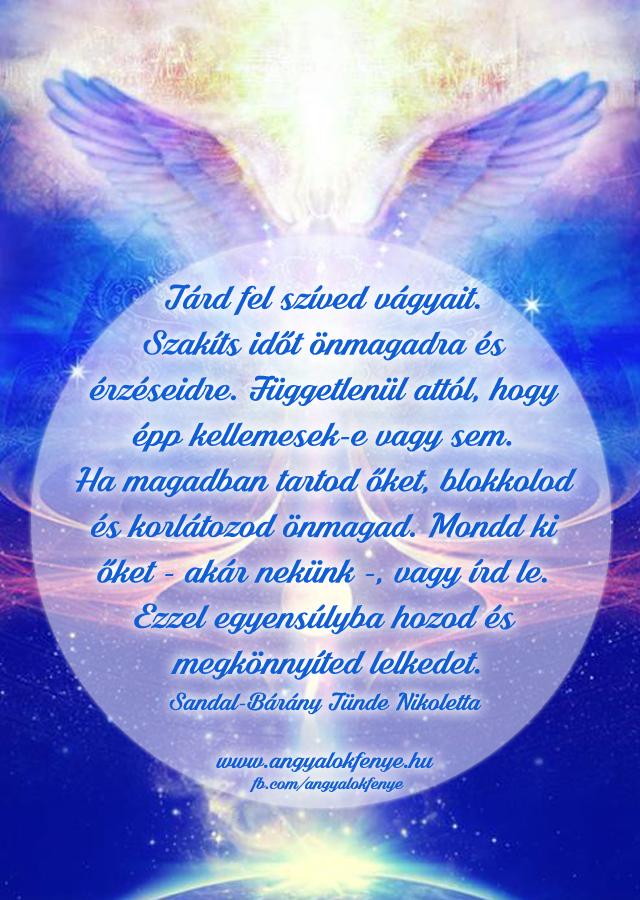 Photo of Angyali üzenet: Tárd fel szíved vágyait
