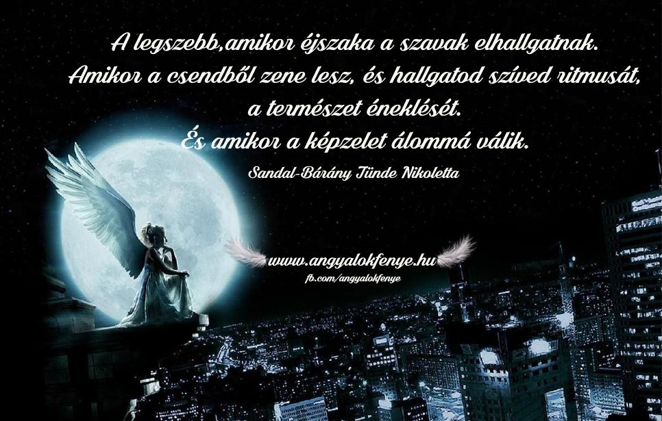 Photo of Angyali üzenet: Amikor éjszaka a szavak elhallgatnak