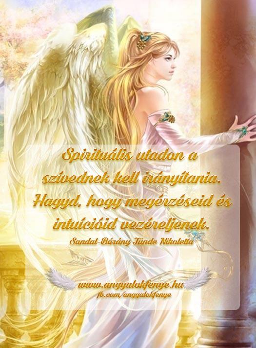 Photo of Angyali üzenet: Spirituális utadon a szívednek kell irányítania