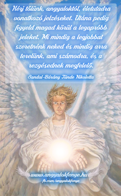 Photo of Angyali üzenet: Kérj tőlünk, angyaloktól, életutadra vonatkozó jelzéseket