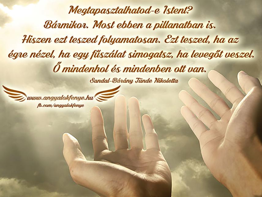 Photo of Angyali üzenet: Megtapasztalhatod-e Istent?