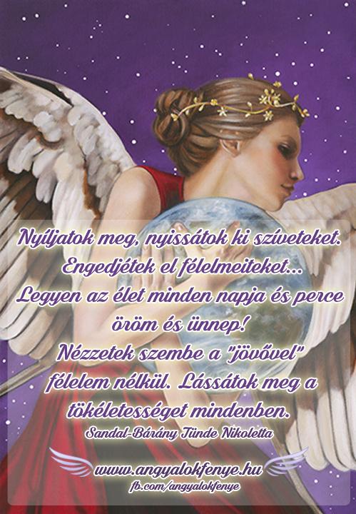 Photo of Angyali üzenet: Nyíljatok meg, nyissátok ki szíveteket