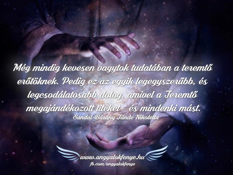 Photo of Angyali üzenet: Teremtő erőtök a legcsodálatosabb