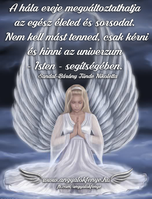 Photo of Angyali üzenet: A hála ereje