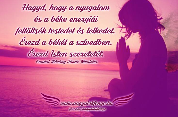 Photo of Angyali üzenet: A nyugalom és a béke energiái